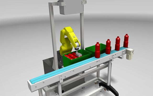 バラ積みロボット4